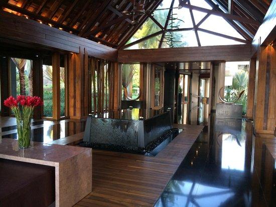 Four Seasons Resort Mauritius at Anahita: The entrance