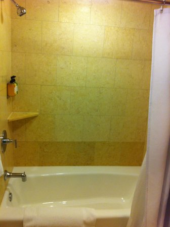 The Paramount Hotel: bathroom was clean