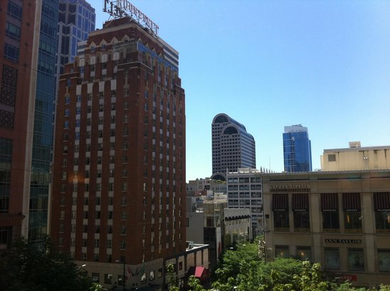 The Paramount Hotel: View from our room.