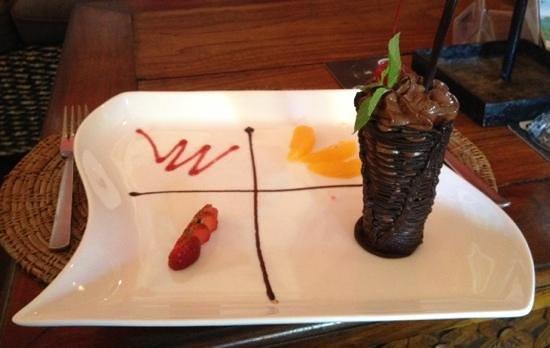 Vincent's Restaurant: Divine chocolate mousse