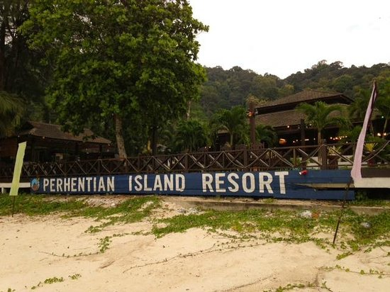 Perhentian Island Resort: View from Beach
