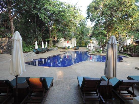 Tanjong Jara Resort: La piscina pequeña, solo para adultos