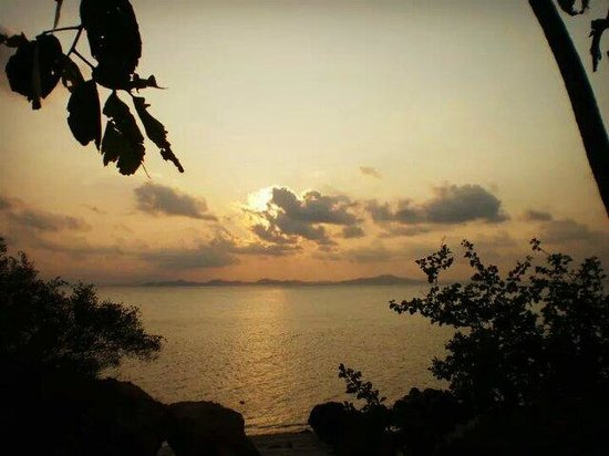 Rawa Island Resort: Nice place to watch sunset...