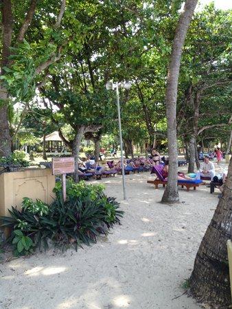 Mercure Resort Sanur: The shade on the beach