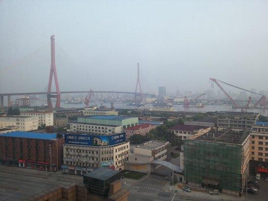 Wyndham Grand Plaza Royale Oriental Shanghai: 강이보는 곳