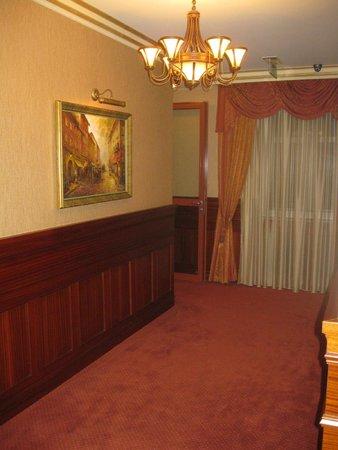 Hotel przy Mlynie: The corridor