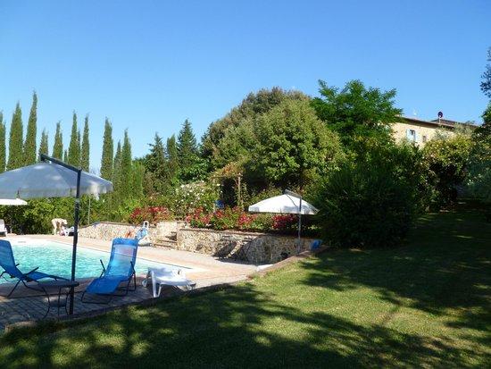 Podere San Luigi: Cooler pool