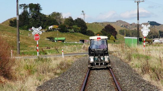 Forgotten World Adventures: Road meets Rail