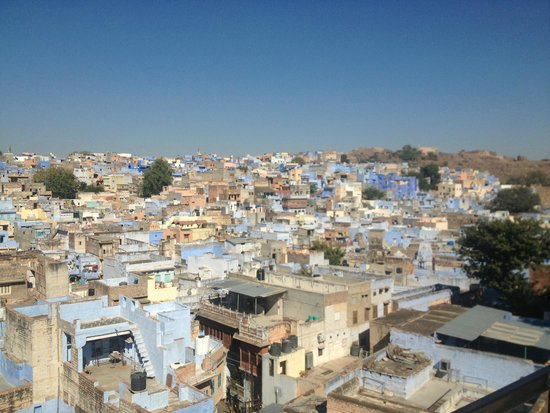 Hotel Haveli Jodhpur: view of jodhpur from hotel rooftop