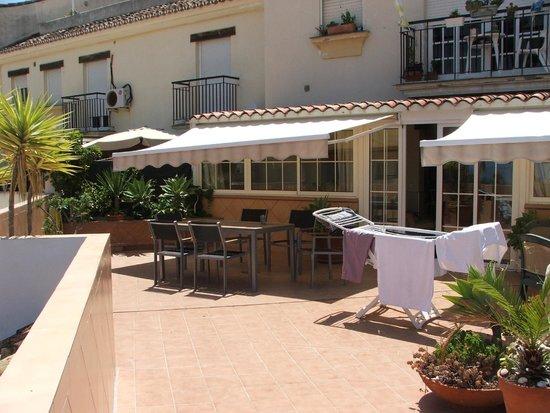 Hostal Guadalupe: Sun Terrace
