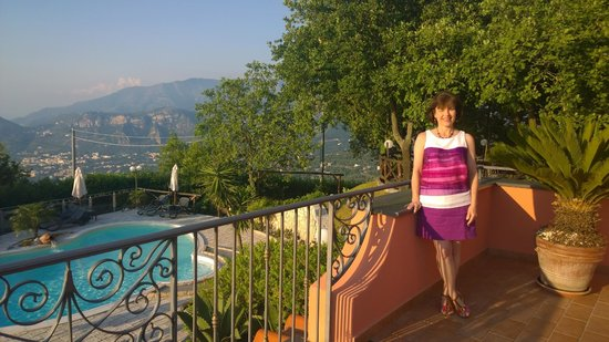 Hotel Prestige Sorrento: Private terrace with romantic room upgrade