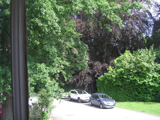 Alison House Hotel : Pleasant outlook from the room
