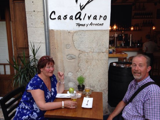 Casa Alvaro: Me and the wife