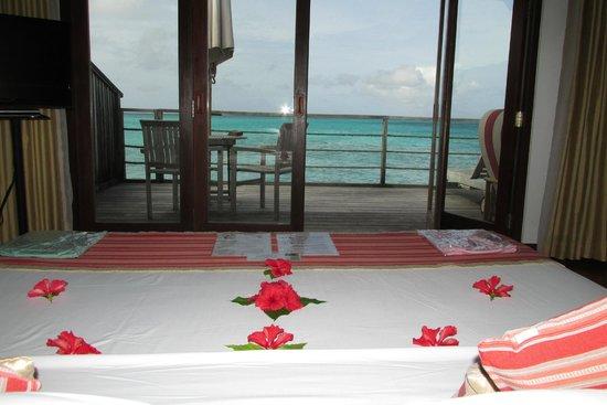 Reethi Beach Resort: water villa
