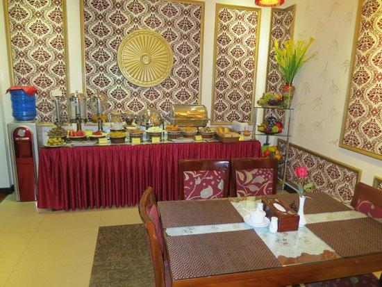 Aquarius Legend Hotel : Breakfast Buffet, great variety