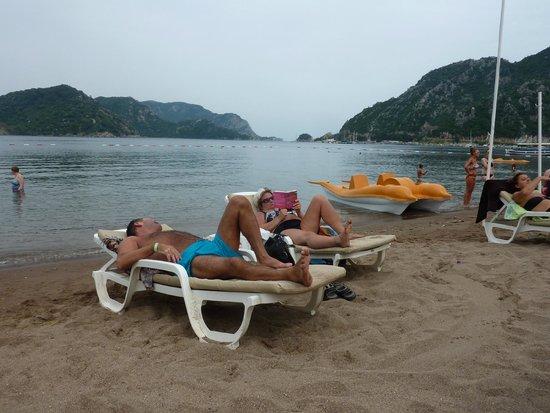 Marti La Perla: beach