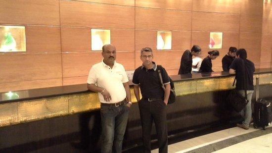 Radisson Blu Plaza Delhi Airport: Reception