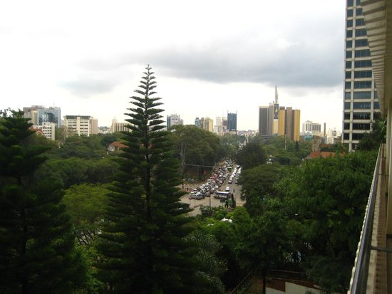Sarova Panafric : View from balcony
