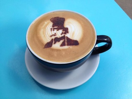 The Crepe and Coffee Cabin: Isambard Brunel Coffee Time.