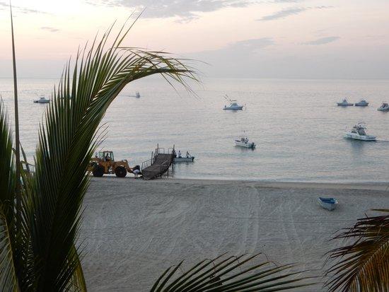 Martin Verdugo's Beach Resort: morning rush hour