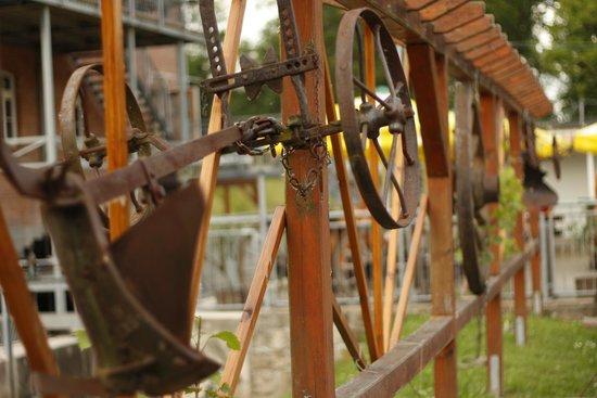Historische Mühle Eberstedt: Dekoration