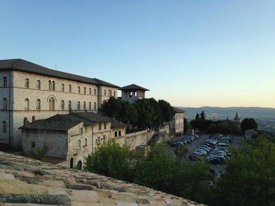 Nun Assisi Relais & Spa Museum: vue de la terrasse