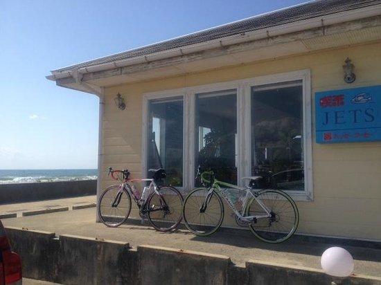 Hakui Kenmin Cyclying Road : 羽咋健民自転車道 (喫茶店に立ち寄る)4