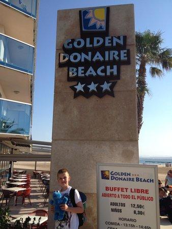 Golden Donaire Beach Hotel: Going home!