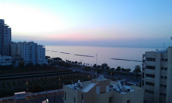 Kapetanios Odyssia: 7th floor view just before sunrise