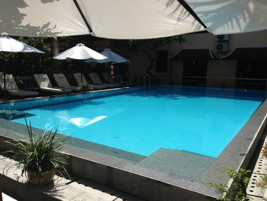 Huy Hoang Garden Hotel : there's that pool i love again