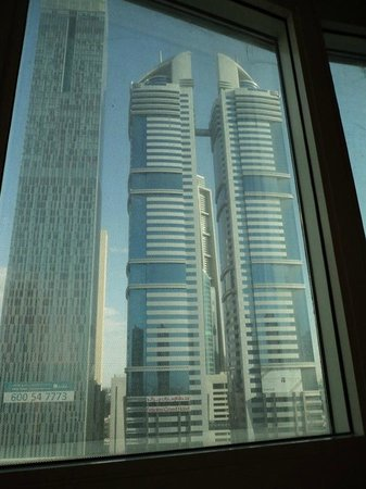 Number One Tower Suites: View from our Executive Room.