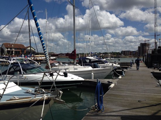 Solent Boat Charters & Training: Ocean Village where SBC are based