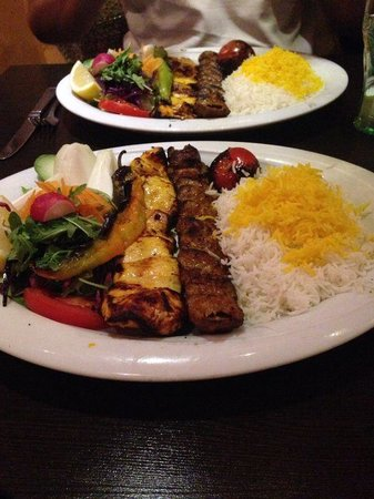 Little Persia: Just look at that great plate