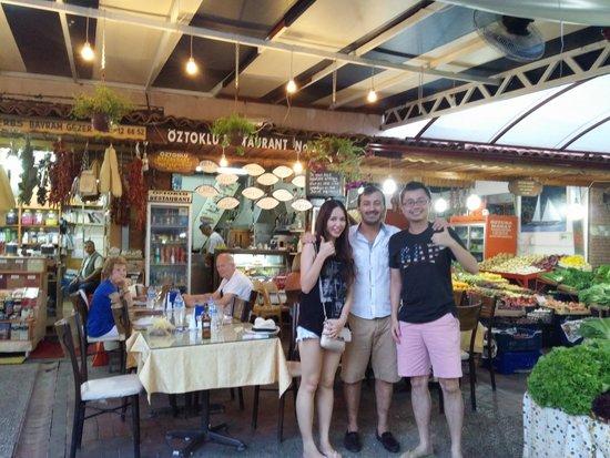 Oztoklu Restaurant : Yalgin and us