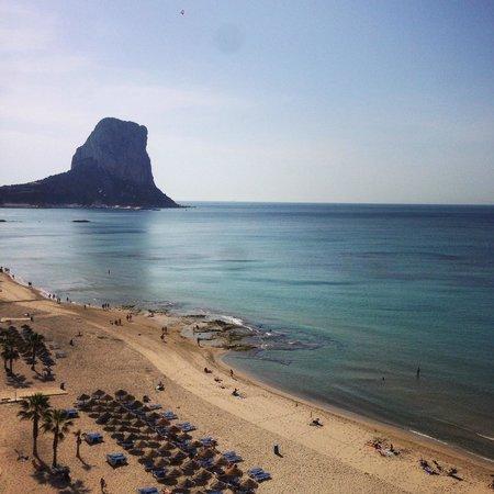Gran Hotel Sol y Mar : vue chambre