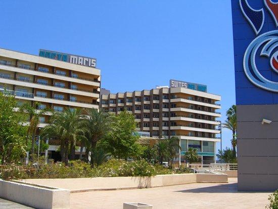Hotel Spa Porta Maris & Suites del Mar : Hotel Front