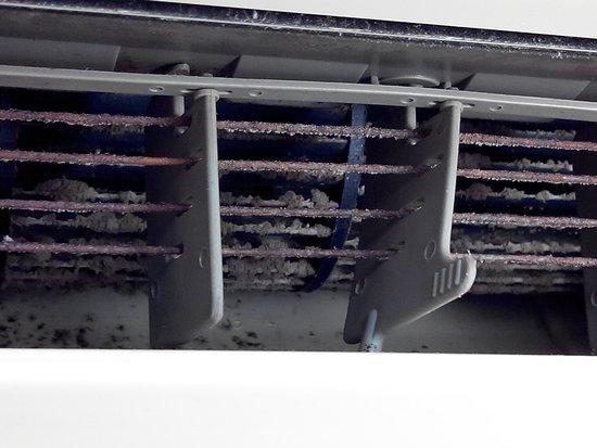 Mercure Creolia Saint-Denis La Reunion: etat de la propreté de la climatisation