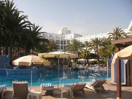 Hotel Riu Palace Maspalomas: 2ème piscine avec balnéo