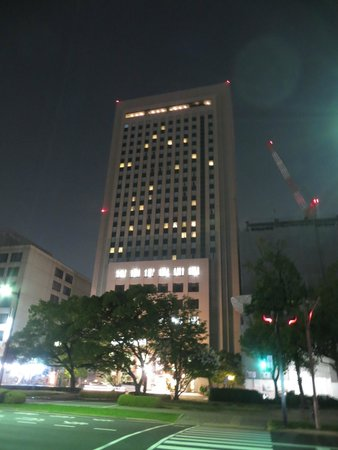 Mitsui Garden Hotel Hiroshima: Hotel street view