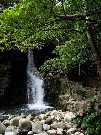 Hacienda Guachipelin: une autre cascade plus bas dans le domaine
