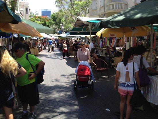 Nachlat Binyamin Pedestrian Mall: View