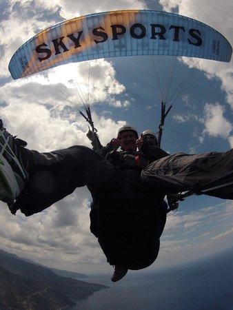 Sky Sports Paragliding: Blue Skies
