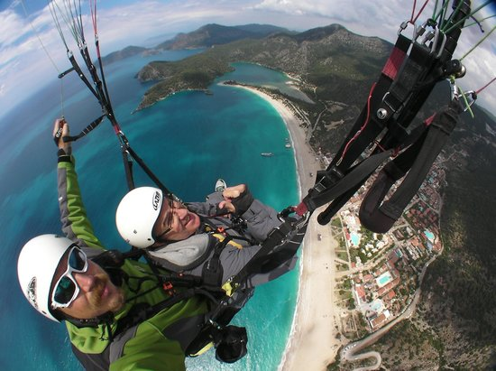What a view - Picture of Sky Sports paragliding, Oludeniz ...