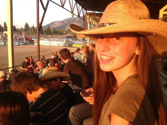 Jackson Hole Rodeo Grounds : I wanted to have a good time