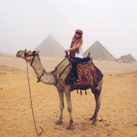 Egypt Day Tours: Mimmo organized us the best camels in Ciaro