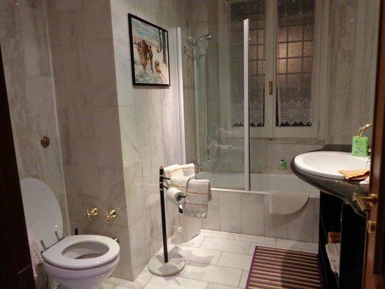 B&B Parioli Garden: Salle de bain