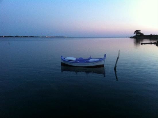 Isola di Mozia (Mothia)/ San Pantaleo : tramonto dall'isola