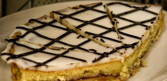 Hatties Restaurant : Bakewell tart