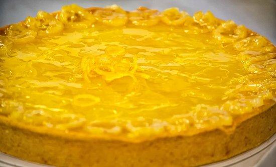 Hatties Restaurant : Lemon curd tart