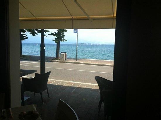 Hotel Europa : vista dal ristorante dell'hotel